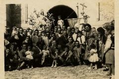 Puerta de la Iglesia - 1956