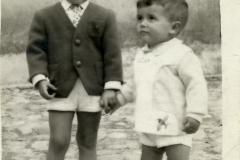 Hermanos Lucianito y Javi