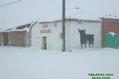 Peña Mecoloco Nevada - 26/02/2006